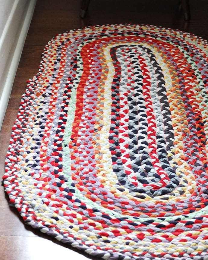 14 DIY Clothes Shirts rag rugs ideas