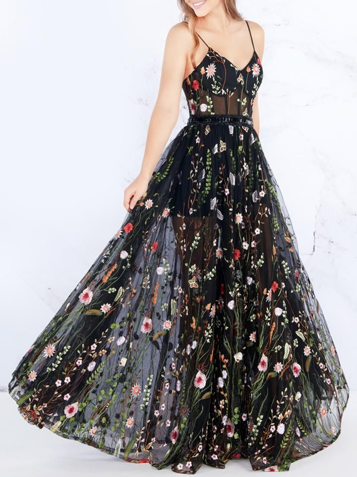 17 dress Floral formal ideas