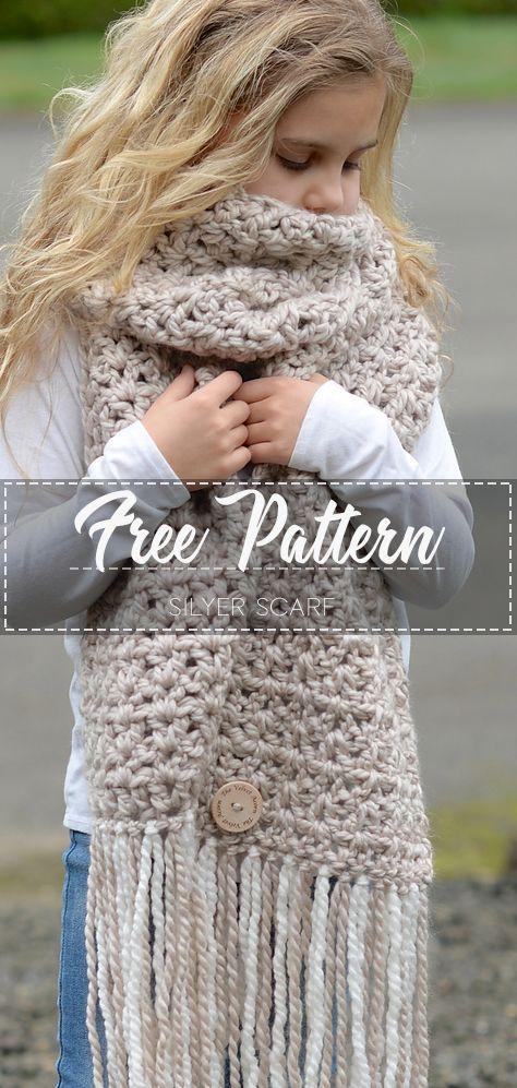 Silyer Scarf – Free Pattern -   17 DIY Clothes Scarf free pattern ideas