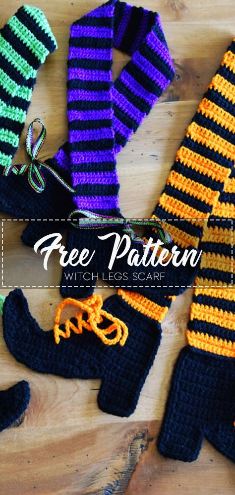 Witch Legs Scarf – Free Pattern -   17 DIY Clothes Scarf free pattern ideas