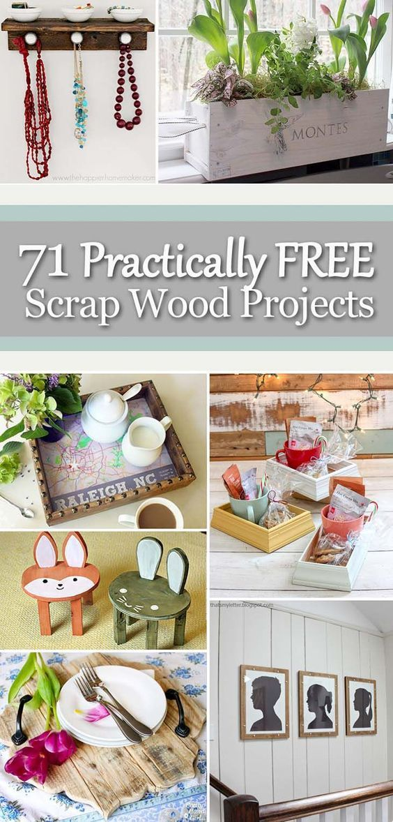 15 diy projects With Wood scraps ideas