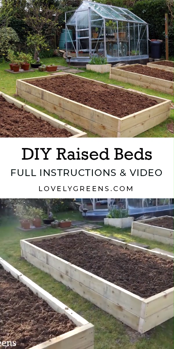 Building Raised Garden Beds: sizes, the best wood, and tips on filling them -   20 garden design Vegetable videos ideas