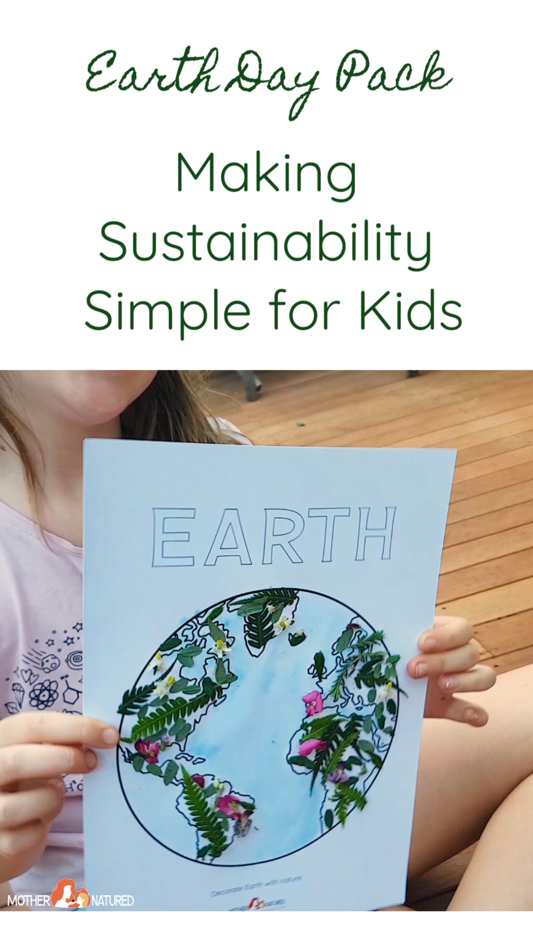 Earth Day Printables for Kids -   16 plants Teaching kids ideas
