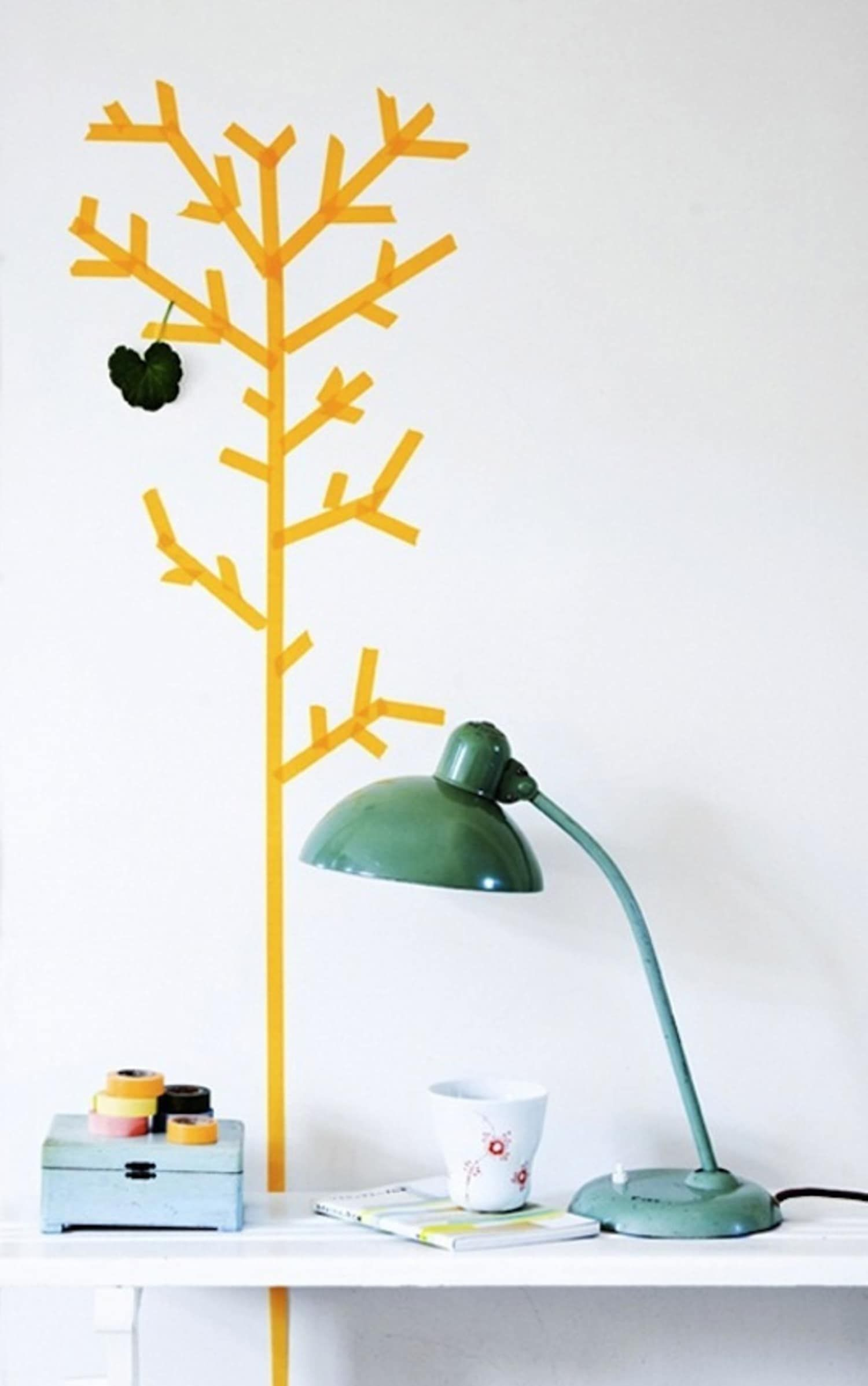 15 Washi Tape Project Ideas for Kids Rooms -   13 room decor Gold washi tape ideas