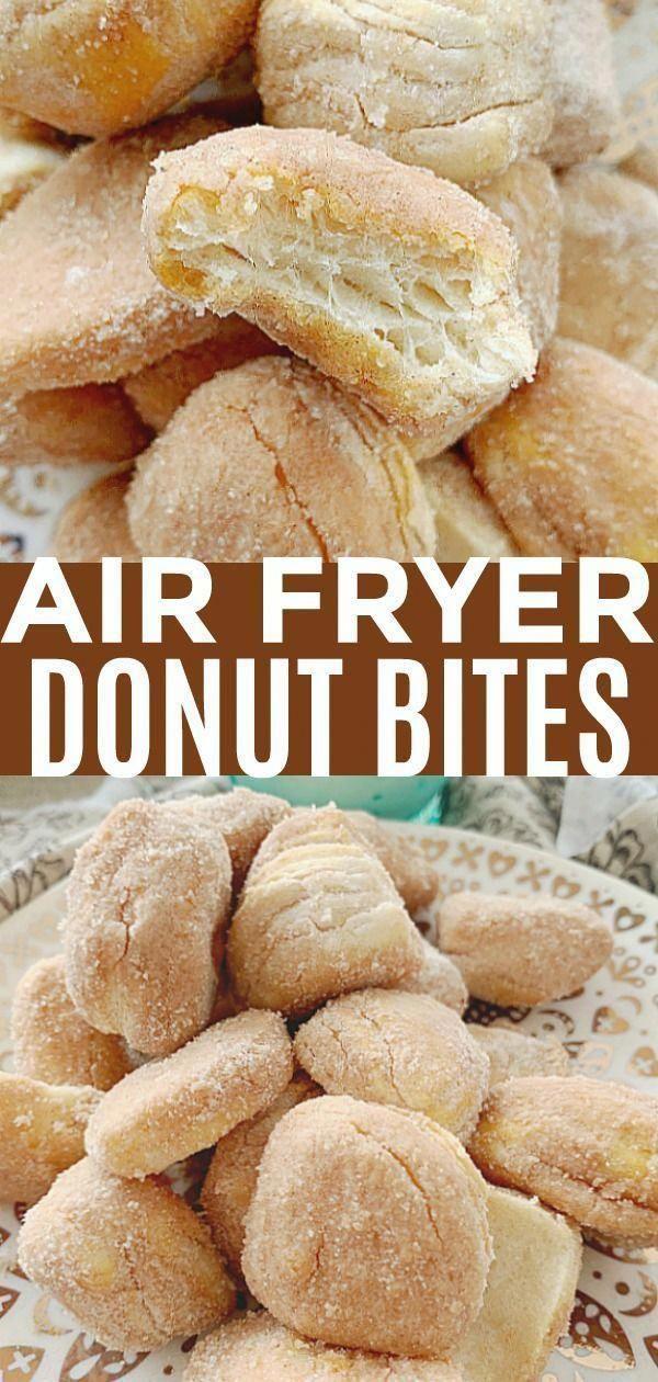 Air Fryer Donut Bites - Foodtastic Mom -   18 air fryer recipes easy dessert ideas