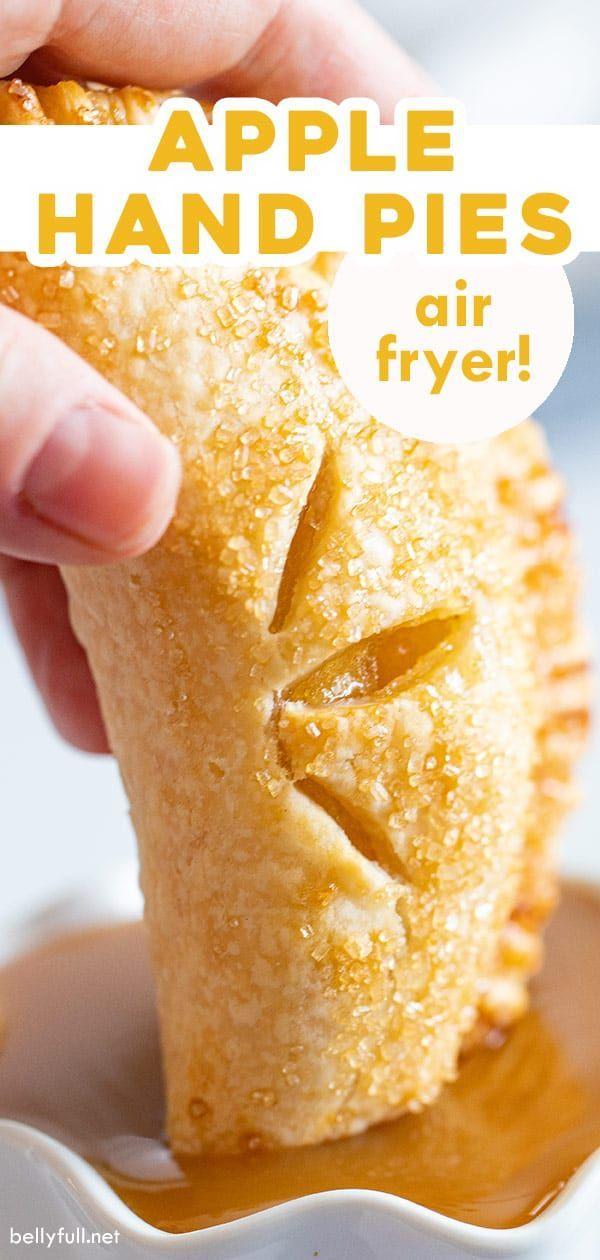Air Fryer Apple Hand Pies -   18 air fryer recipes easy dessert ideas