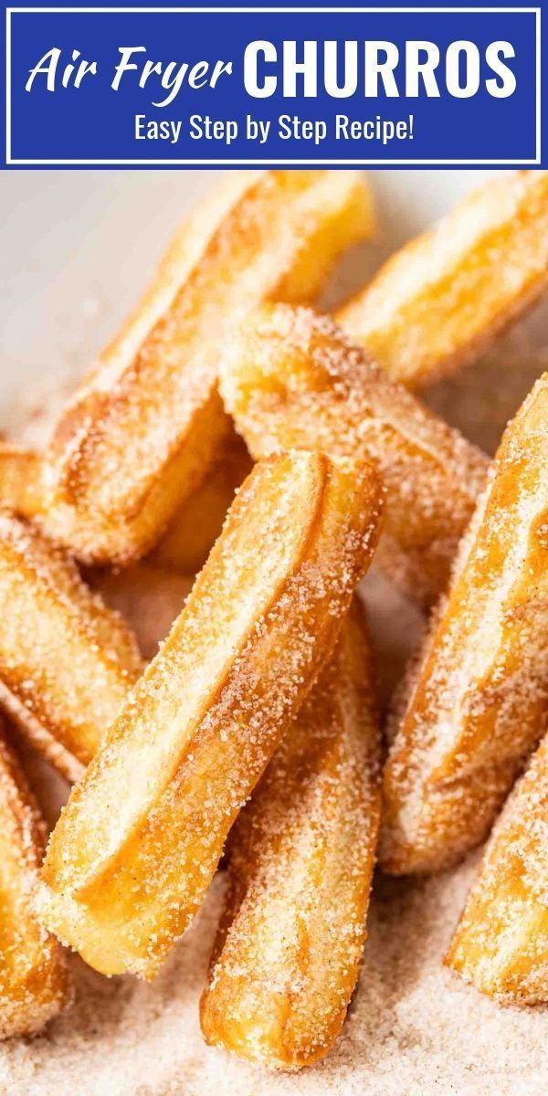 Air Fryer Churros -   18 air fryer recipes easy dessert ideas