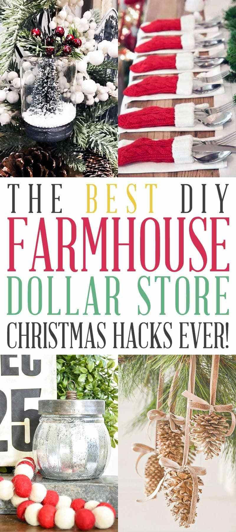 23 diy christmas decorations dollar store ideas