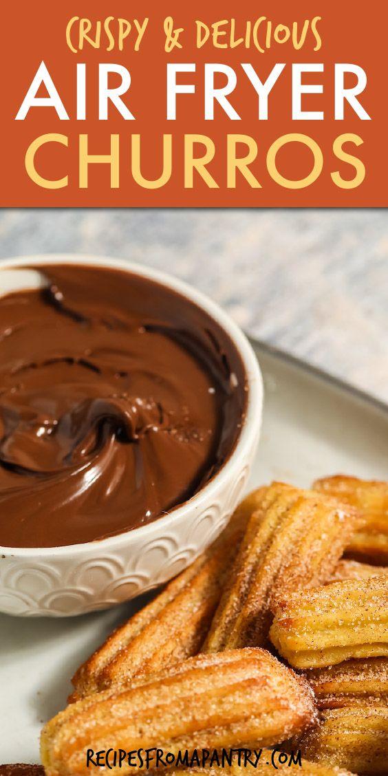 Easy Air Fryer Churros -   18 air fryer recipes easy dessert ideas