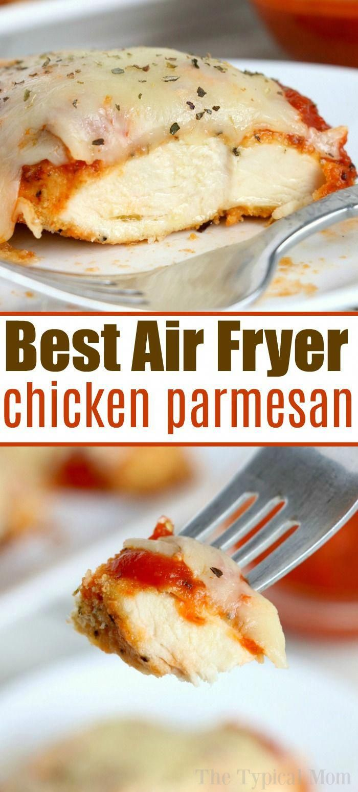 BEST Air Fryer Chicken Parmesan! -   18 air fryer recipes easy dessert ideas