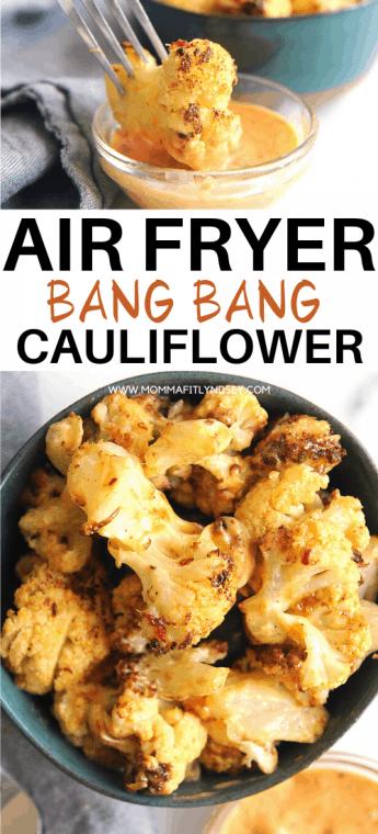 Bang Bang Cauliflower -   17 air fryer recipes healthy low sodium ideas